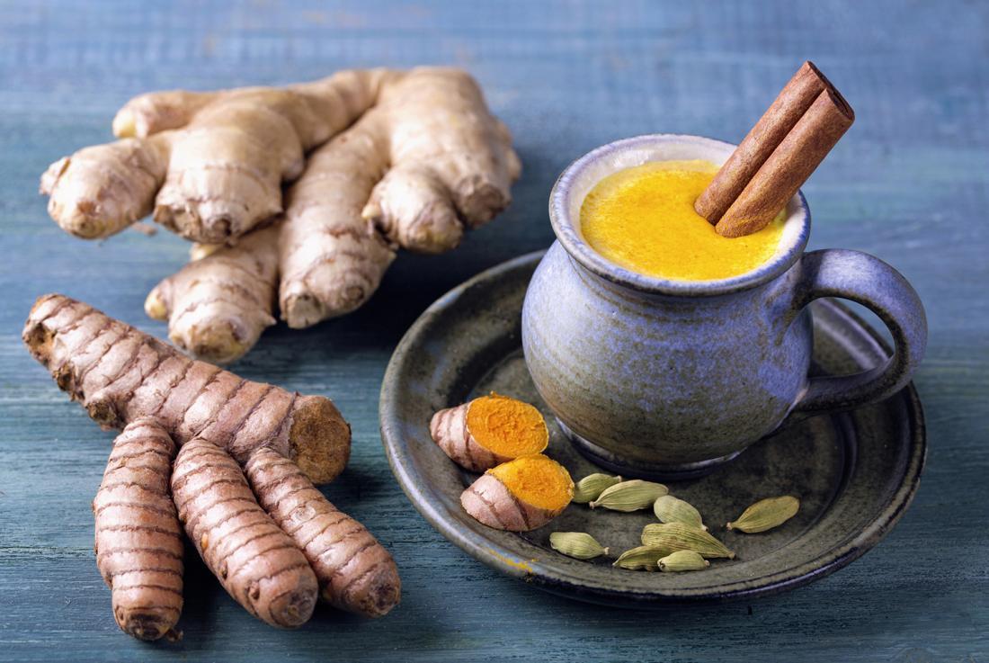 Куркума и имбирь для похудения рецепты