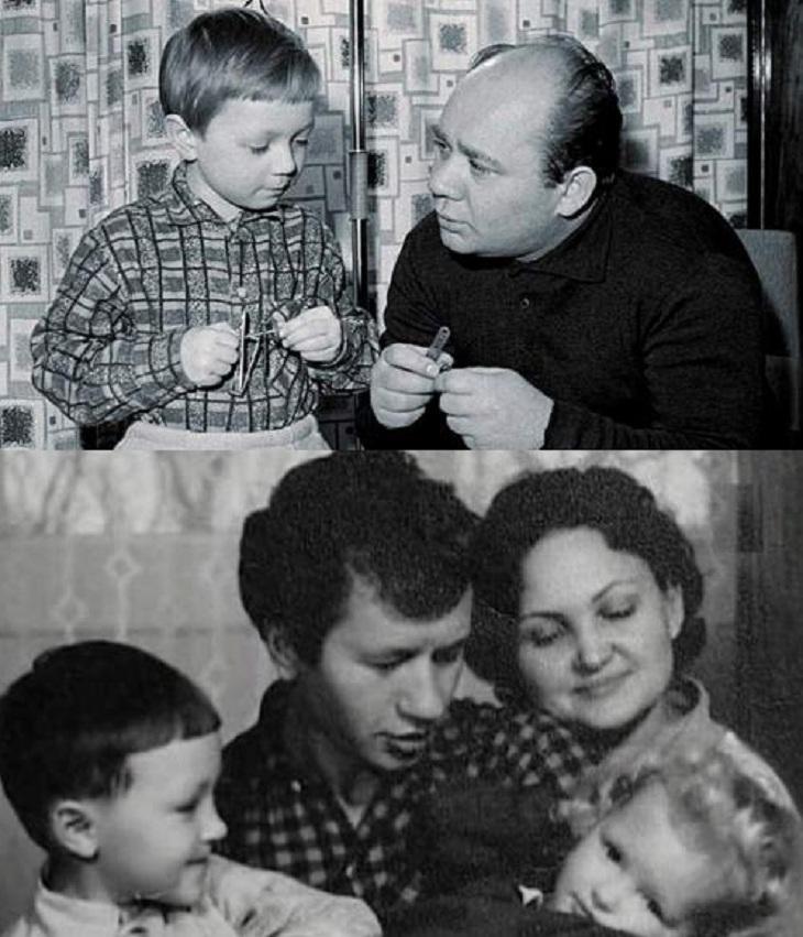 Леонид быков и его сын фото
