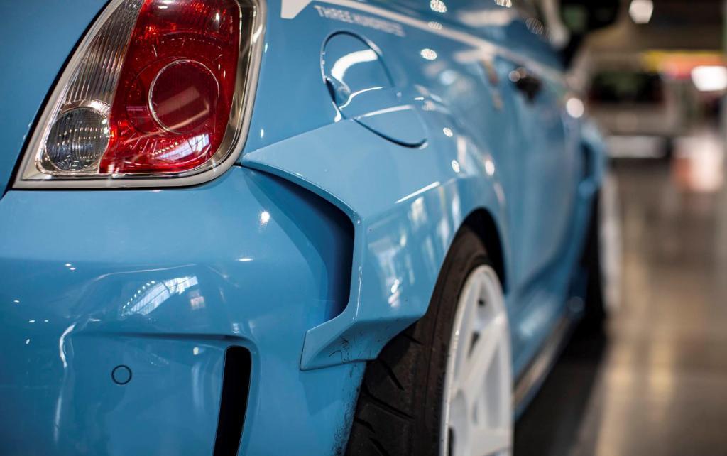 Сделано с любовью: обновленная версия Fiat 500 — Abarth 595