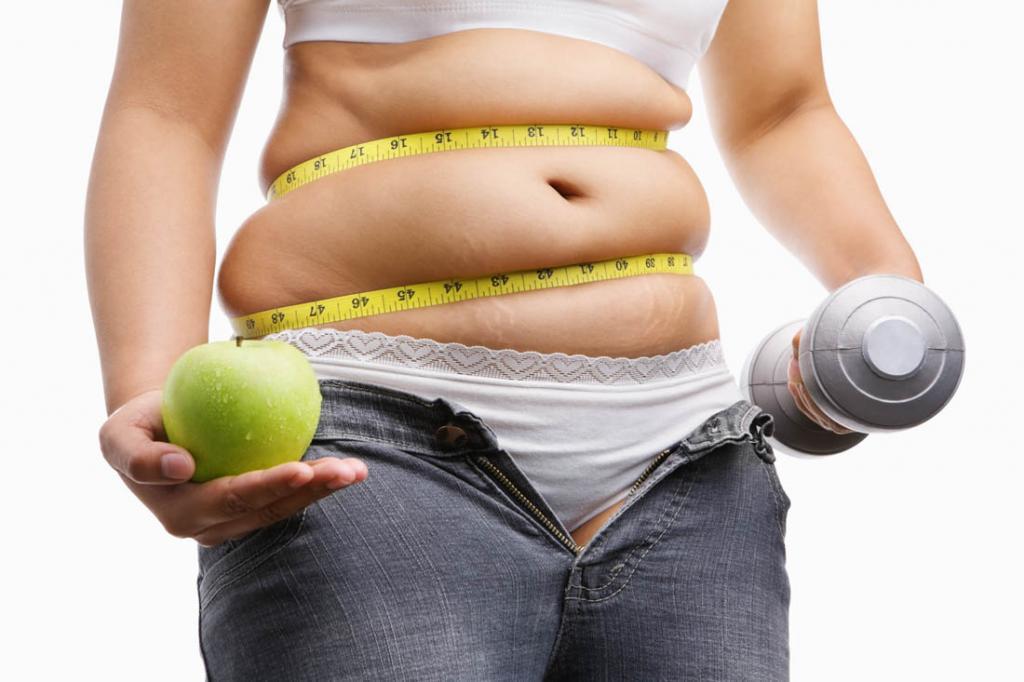 Сбросить лишний вес для девушки