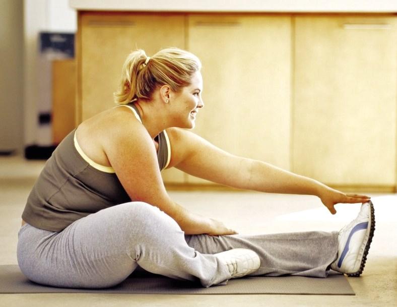 Упражнениями сбросить лишний вес