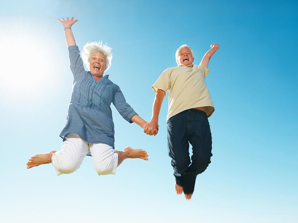 Днем рождения, картинки пожилые люди и активный образ жизни