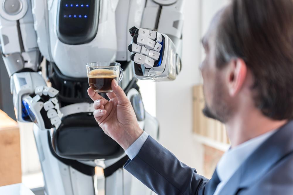 Робот-бариста получил работу в Сеуле