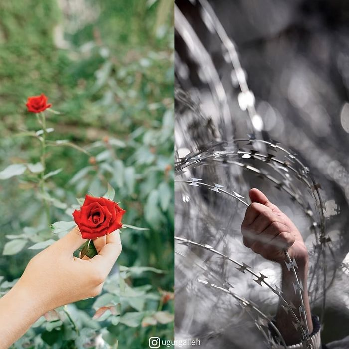 Фотошоп как искусство: фотографии, на которых показаны две стороны этого мира