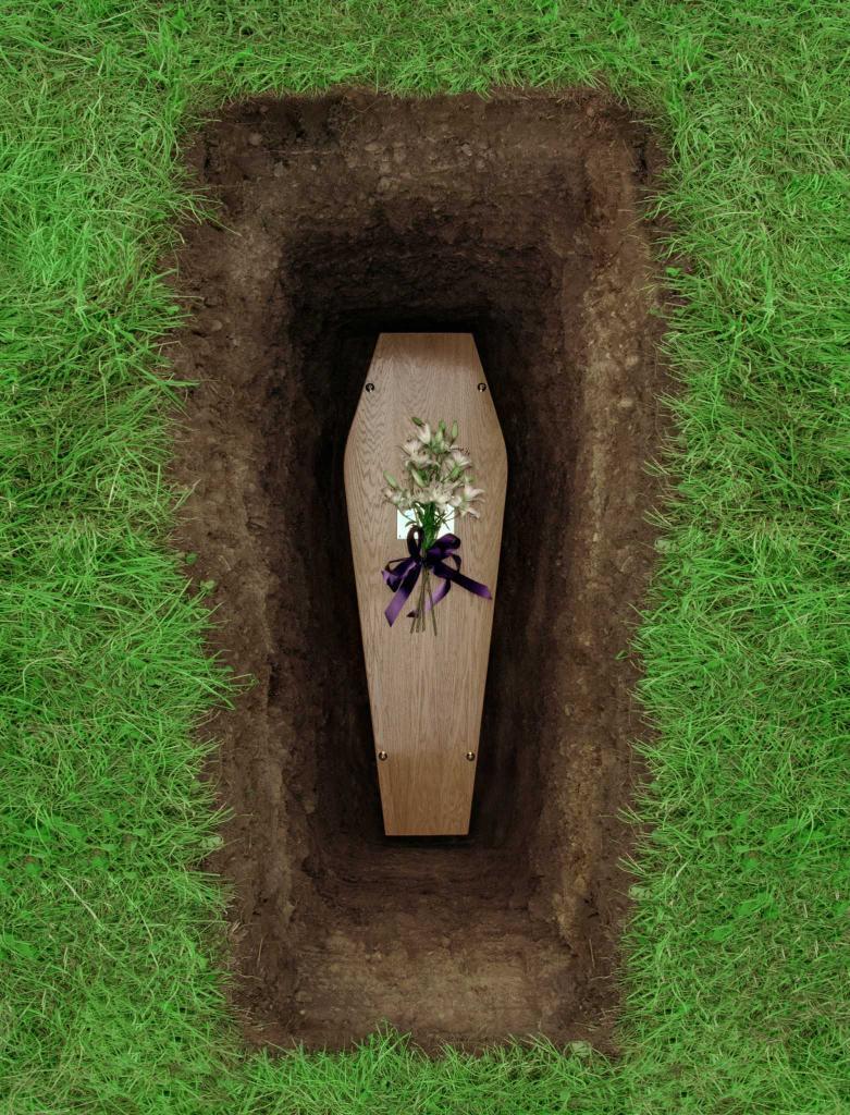 Всего лишь предположение: если человека похоронить заживо, сколько он сможет еще прожить?