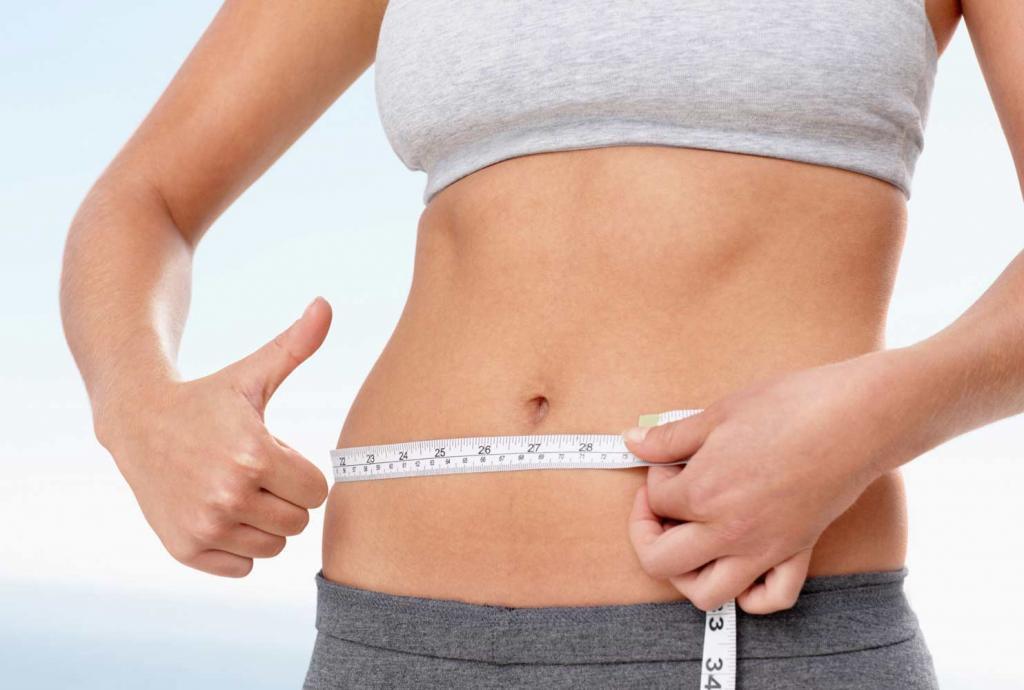 срочное похудение живота