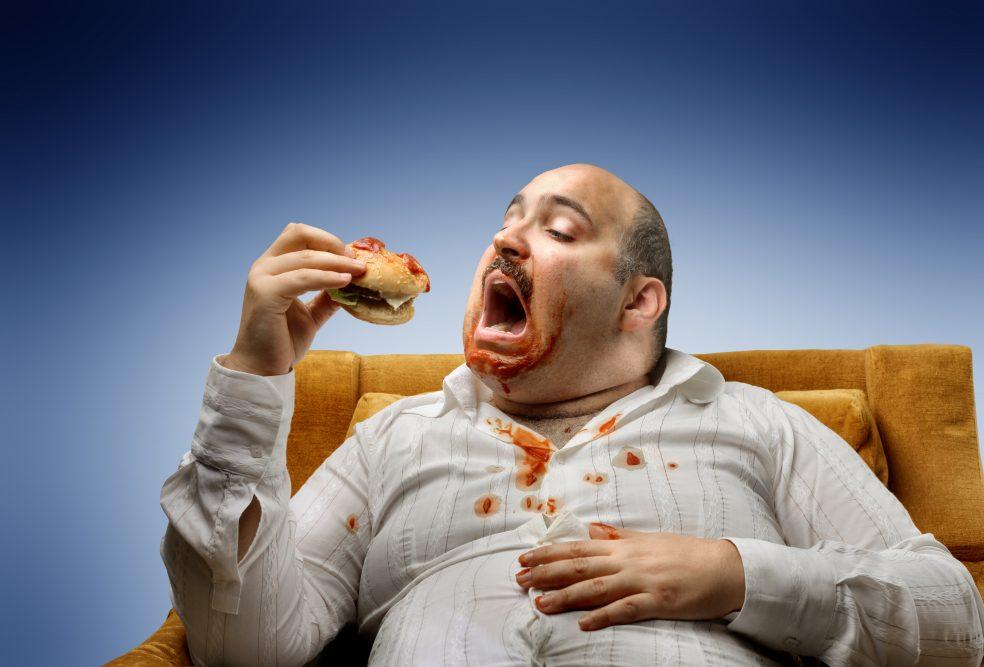 картинки толстяков с едой направляют движение