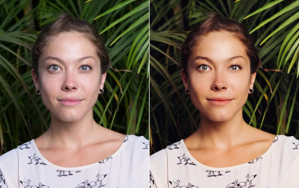 Как получать естественные цвета в обработке фото удобства