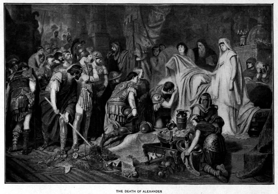 Загадка смерти Александра Македонского: возможно, великого полководца похоронили еще живым
