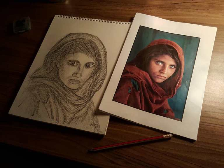 Как сегодня выглядит афганская Мона Лиза... История девочки-беженки, прославившейся на весь мир