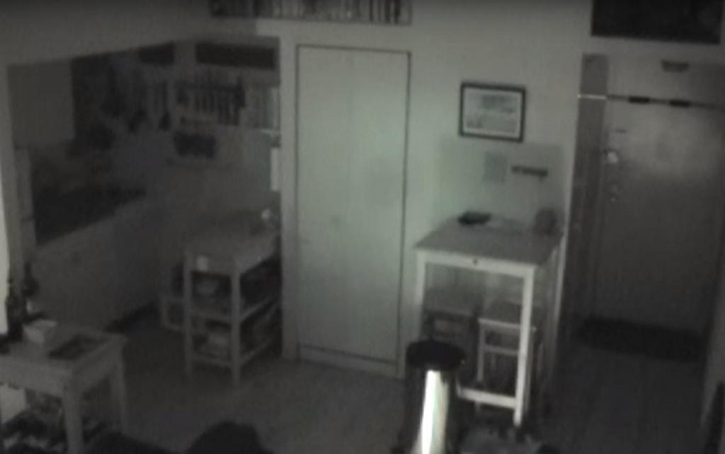 Парень установил камеру, когда из холодильника стали пропадать продукты. Увиденное сильно напугало его