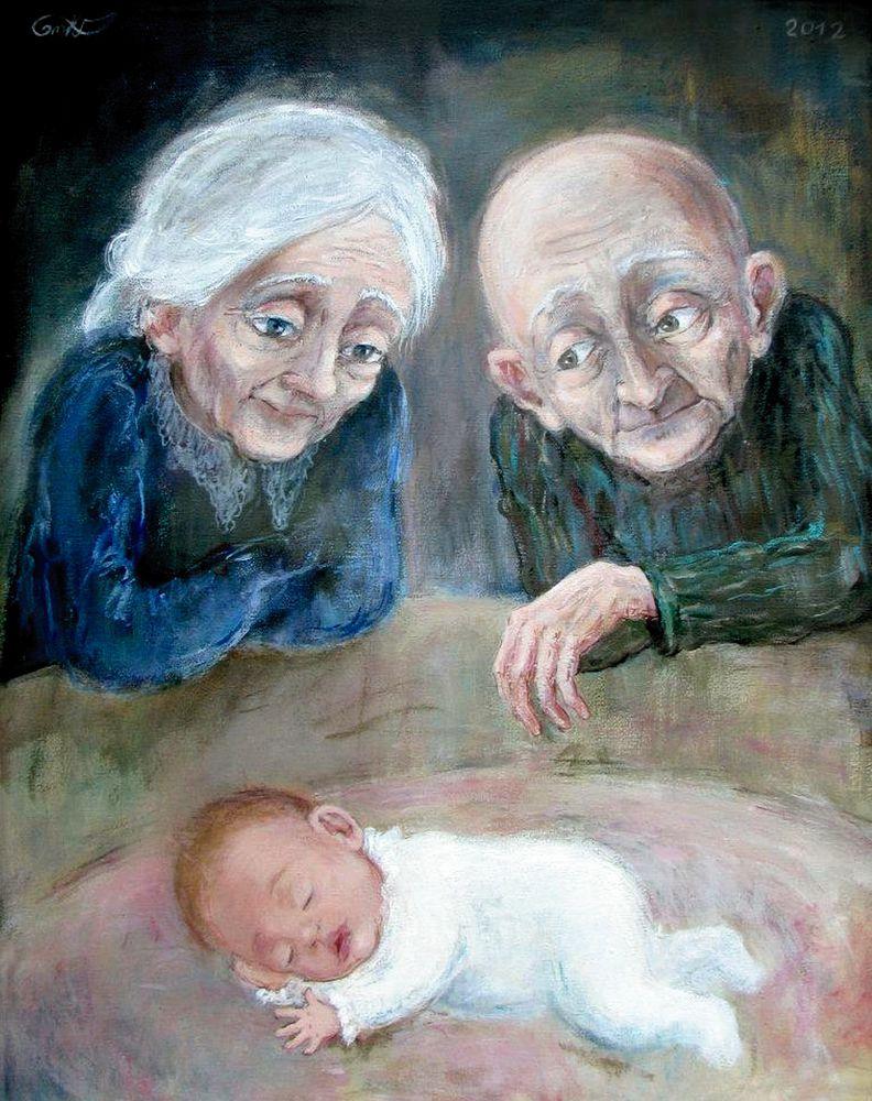 Изображение старости в картинах художников