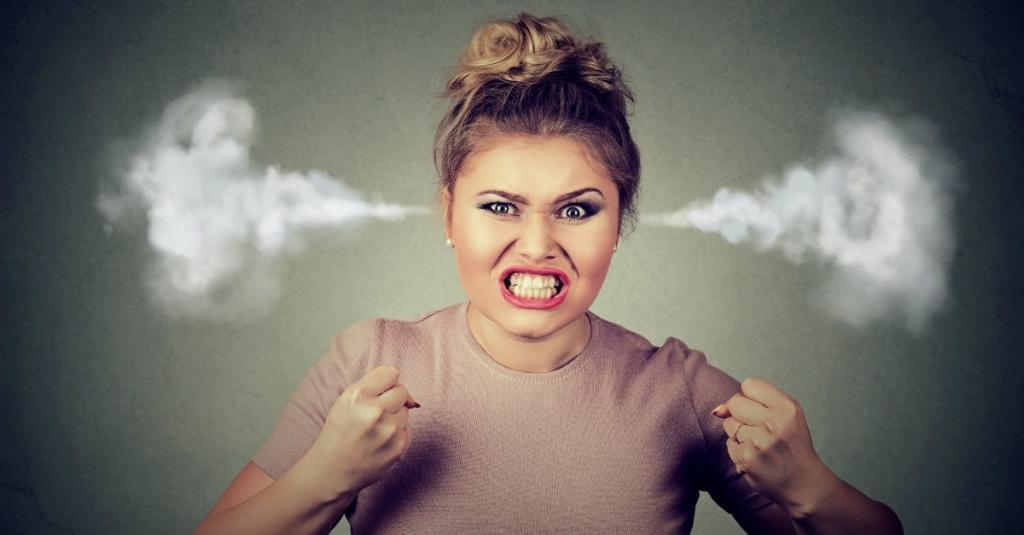 Если человек часто злится, возможно, у него депрессия