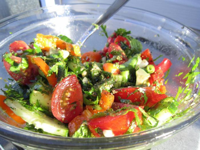 рецепты простых и здоровых салатов