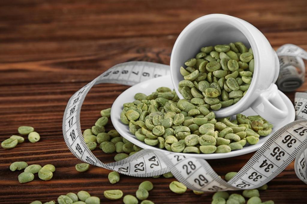 Зеленый кофе в похудение