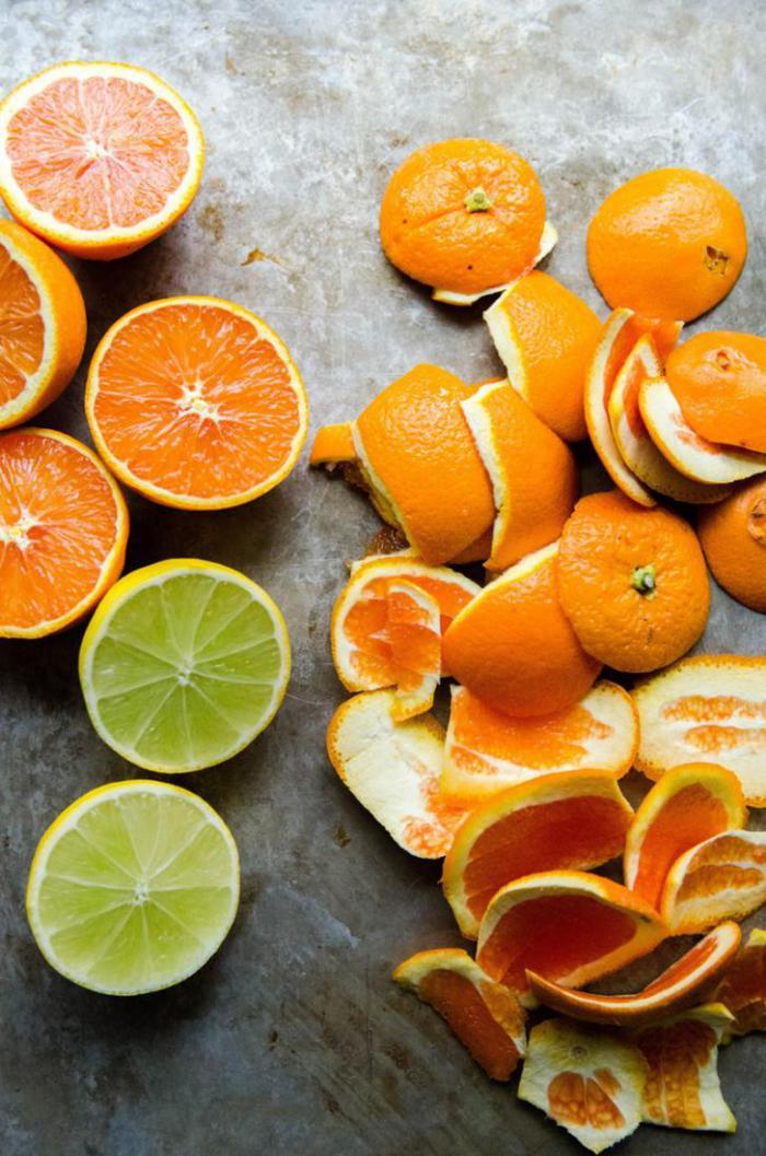 Как сделать универсальное моющее средство для кухни с помощью кожуры от цитрусовых