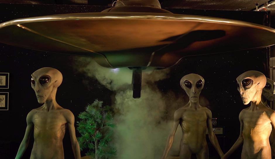 инопланетные существа и секс с ними