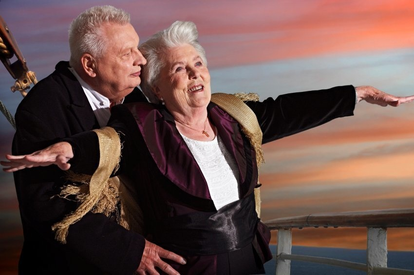 фото приколы про пенсионеров