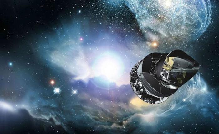 Космическое пространство не пустое.