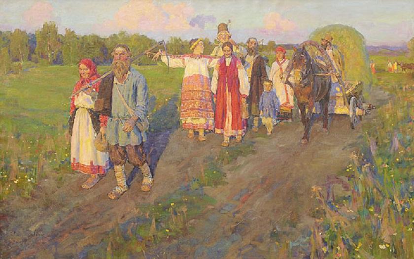 Трехдневная барщина: сколько дней в году отдыхали крестьяне