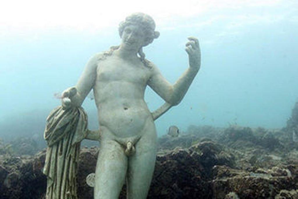 Затонувший мир, скрывающийся в настоящее время под водой