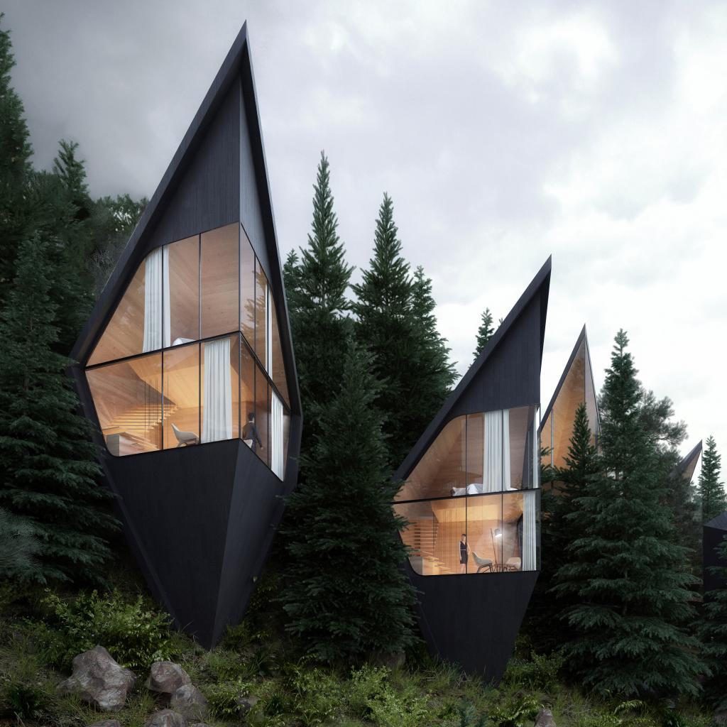 Отель Tree House в лесу: необычное место для единения с природой