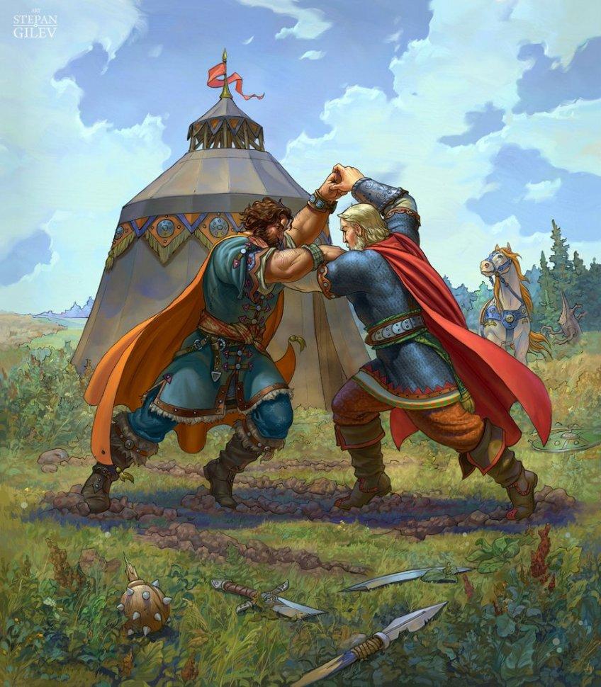 Кто они, русские богатыри - реальные люди или сказочные герои? След, оставленный в истории