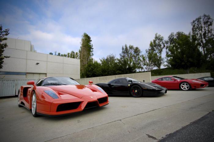 11 крутых Ferrari