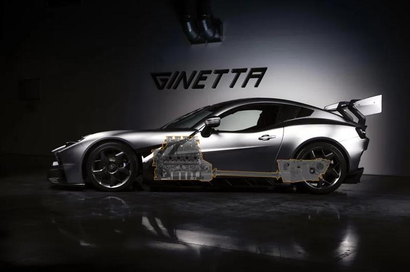 Ginetta Akula - автомобиль, на создание которого дизайнеров вдохновила акула