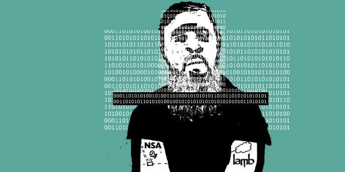 борода защищает хакера
