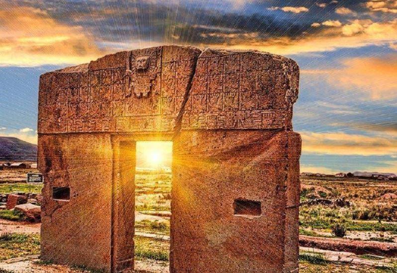 Врата солнца.