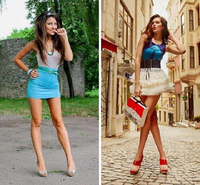 мужчины не любят мини-юбки