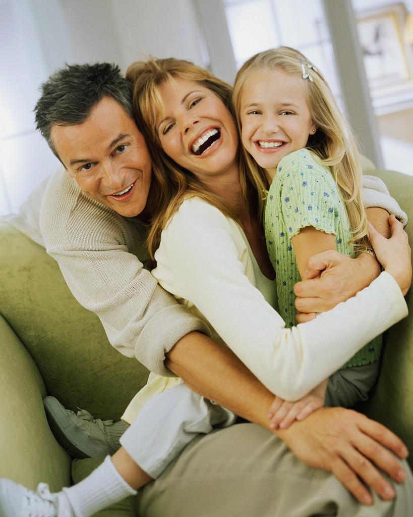 один картинки любящей семьи с детьми тонкие ломтики