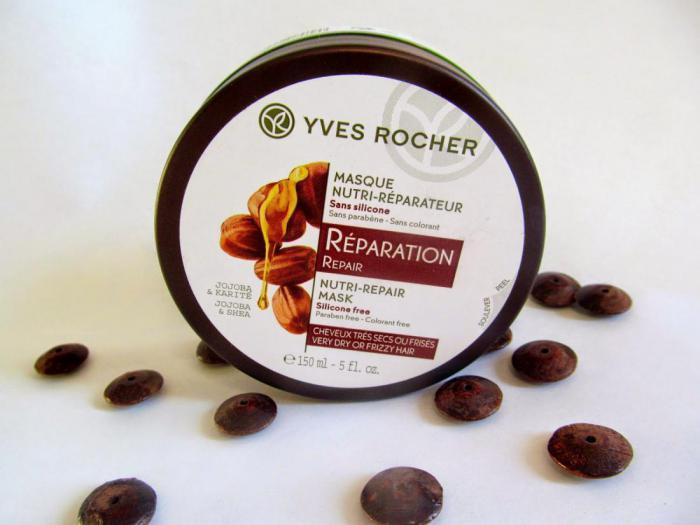 Маска для волос «Питание и восстановление» YvesRocher