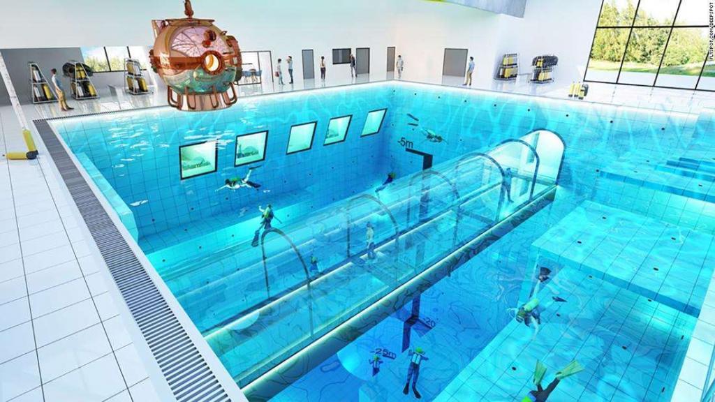 Полное погружение: в Польше откроется самый глубокий бассейн в мире