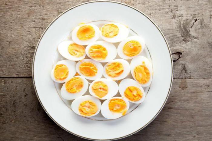 Яйца отварные диета