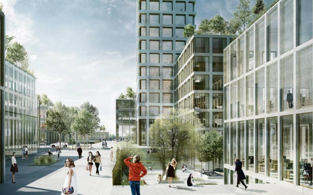 5 место по высоте: в Дании будет возведено одно из самых больших зданий в Европе