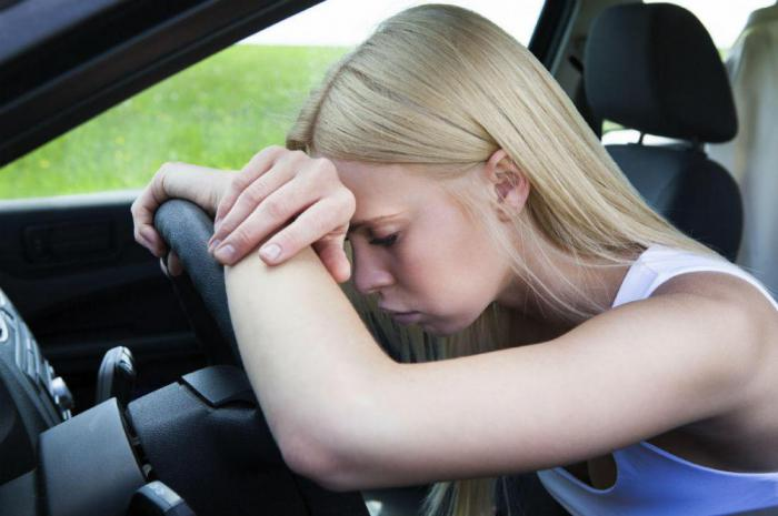 Only 1 hour of sleep doubles the risk of car accident