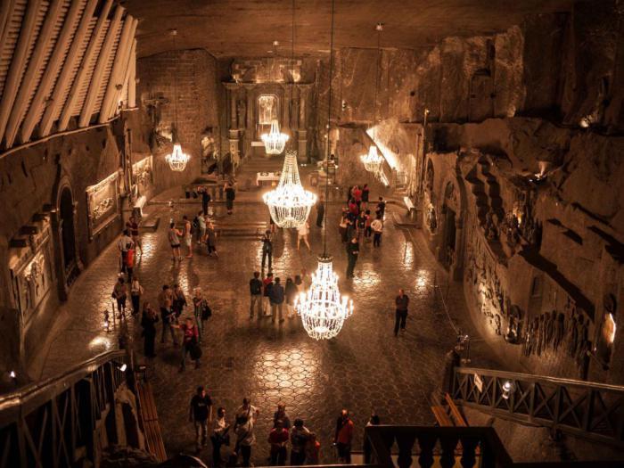 подземные города убежища древние укрытия соляные шахты бомбоубежища секретные постройки христианские святыни
