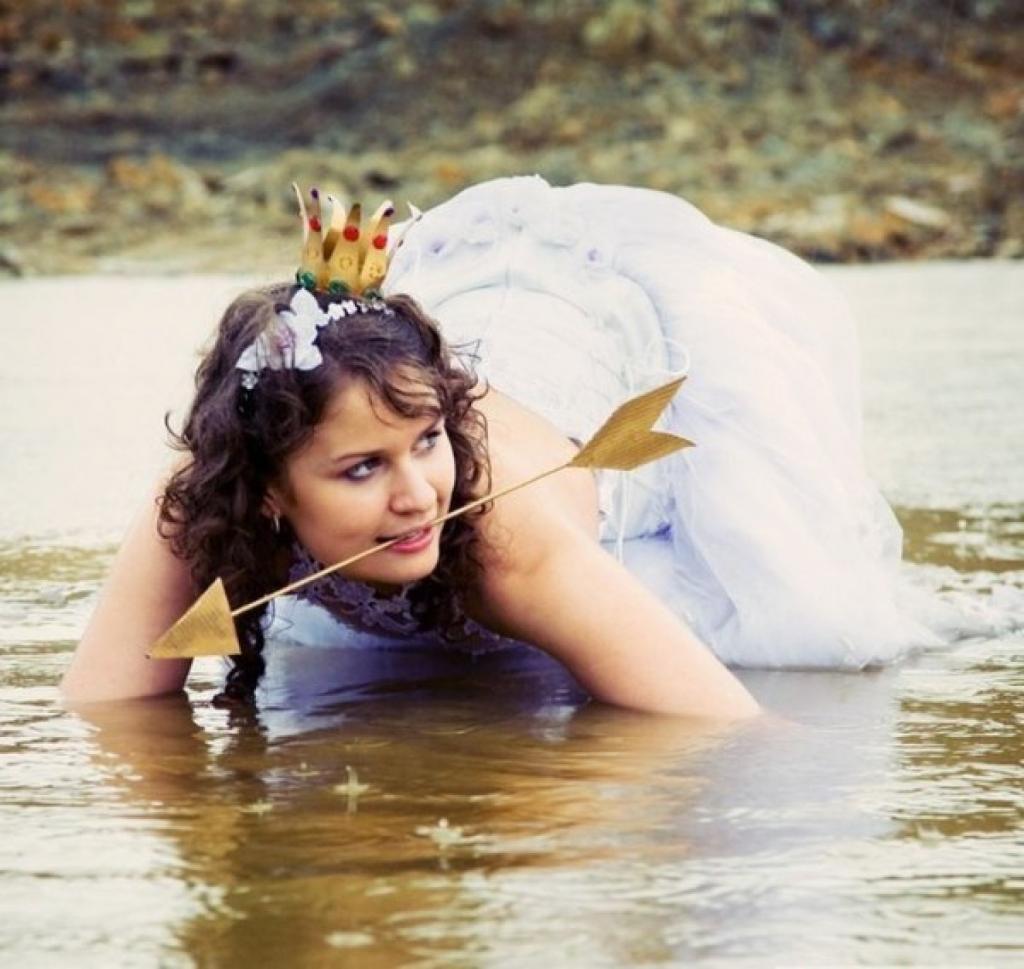 Свадьба по-русски: фотографии, лучше всяких слов характеризующие наше представление о веселье