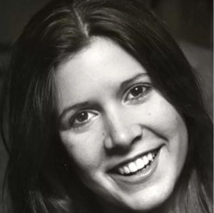 """Как выглядела звезда """"Звездных войн"""" Кэрри Фишер в молодости (фото)"""