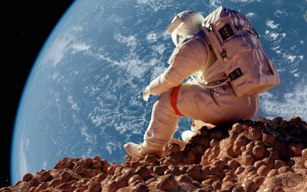 Стройка на Луне: обсуждаются новые проекты по возведению городов на спутнике Земли