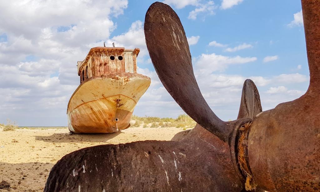 Неотъемлемая часть ландшафта или морского дна: безмолвные и неотразимо красивые затонувшие корабли в разных уголках планеты