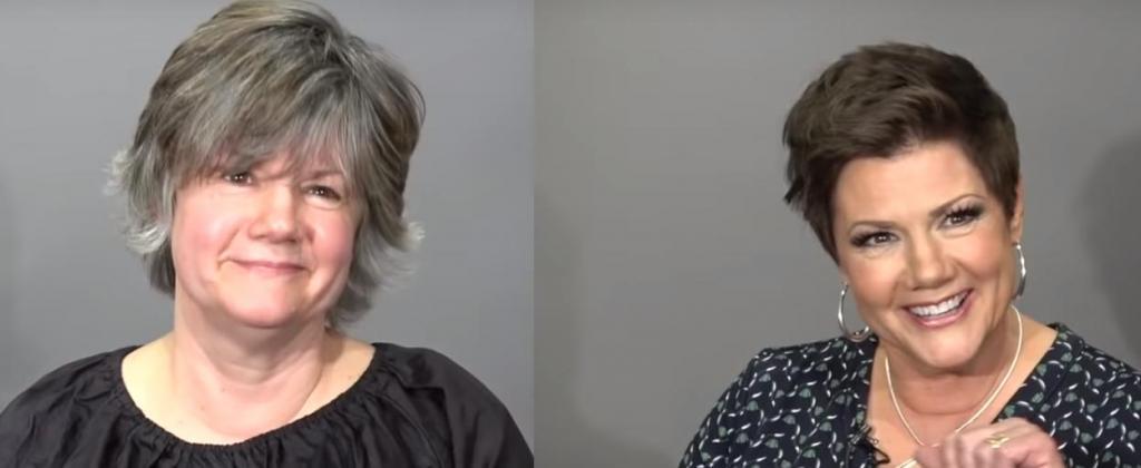 Была скучной бабушкой, а стала гламурной оторвой: история одного похода в салон (фото)