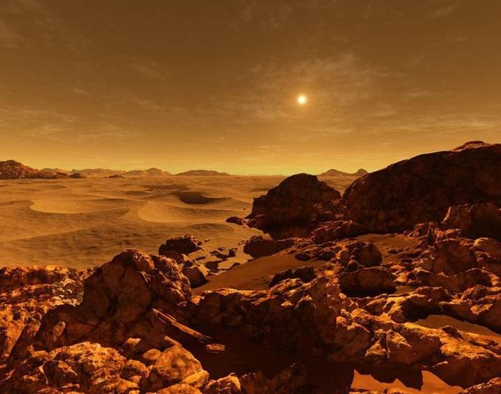 Как выглядит восход солнца на Плутоне, Марсе, Венере и других планетах Солнечной системы (фото)