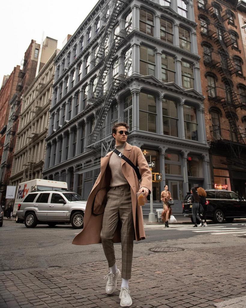 Красивый и стильный Адам Галлахер влюбляет в себя миллионы девушек в Instagram