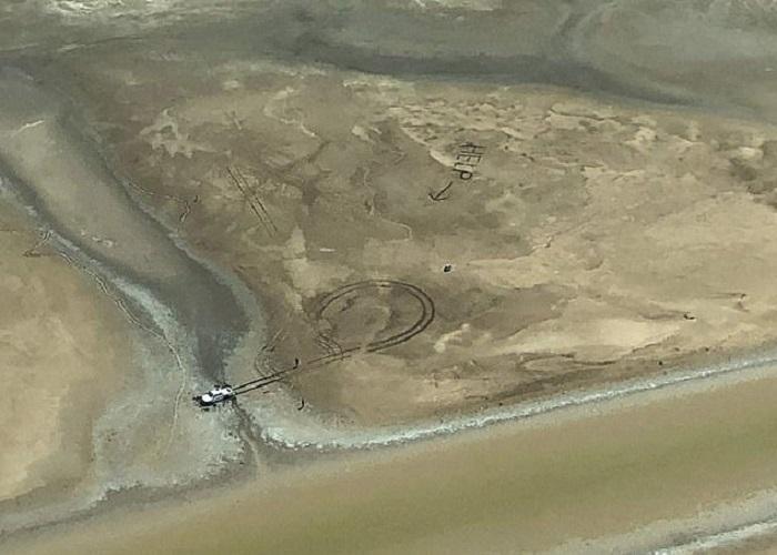 Одно лишь слово, нацарапанное в грязи, спасло пару, попавшую в беду в Национальном парке Австралии