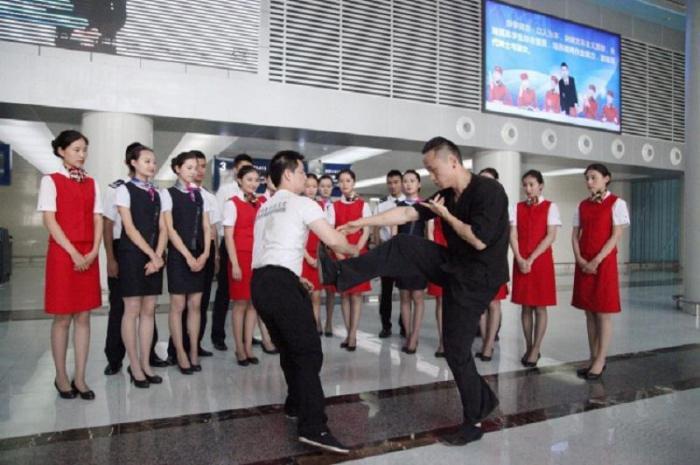 бортпроводник в китае обучение