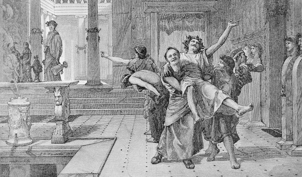 танцы древнего рима картинки паркет