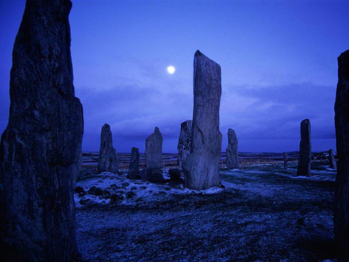 Мегалиты в шотландии